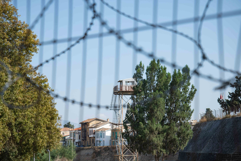 Buffer zone, watchtower, Arab Ahmet