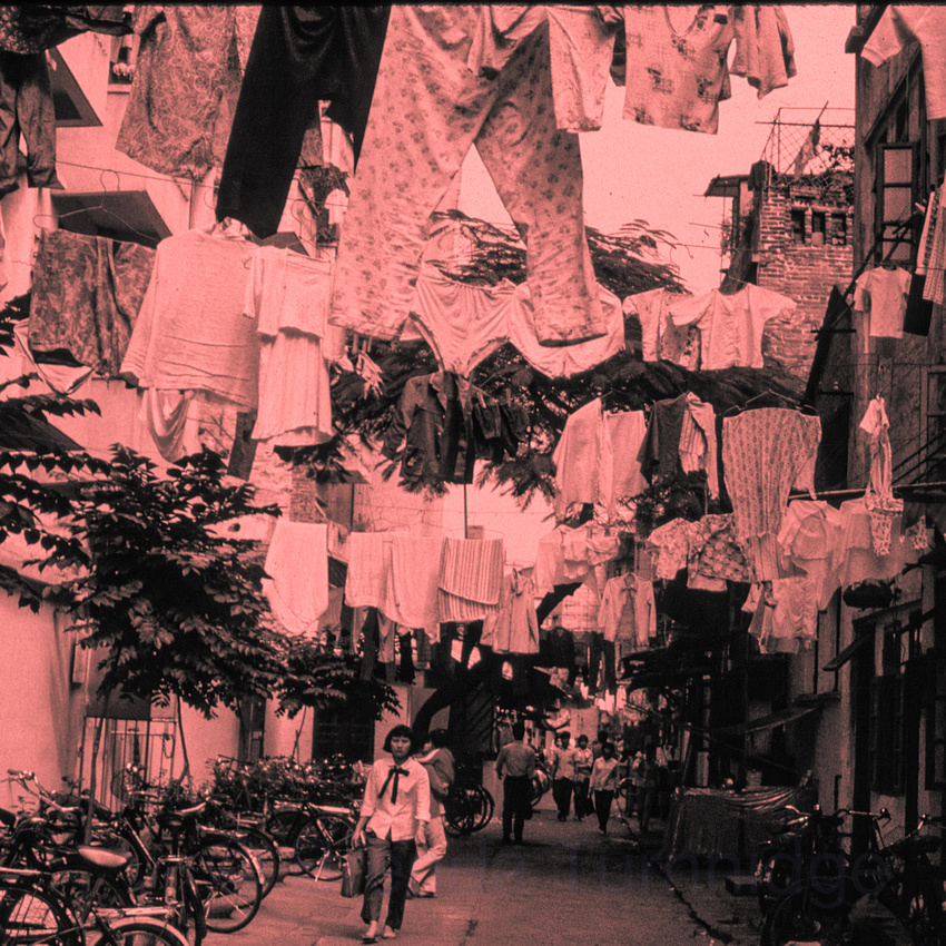 3. Washing Day, Canton backstreets