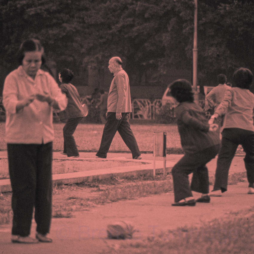 7. Morning exercisers, Canton